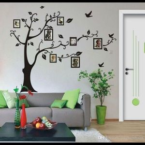 new family wall tree decal